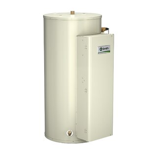 A.O. Smith DRE-52-27 Commercial Tank Type Water Heater Electric 52 Gal Gold Series 27KW Input