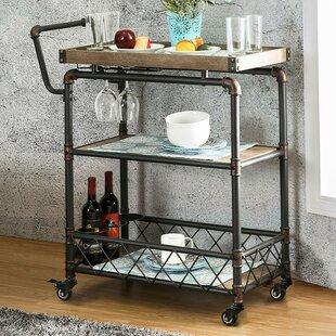 Elnora Bar Cart by Williston Forge