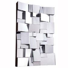 Geometric Wall Mirror modern wall accents | allmodern