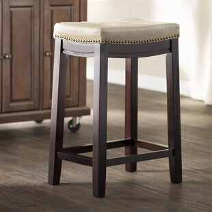 Russett 26 Bar Stool by Three Posts