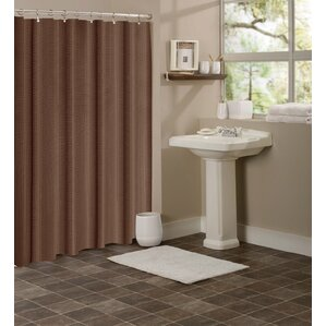 beige and brown shower curtain. Timberview Waffle Shower Curtain Brown Curtains You ll Love  Wayfair