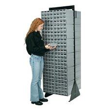 Double Sided Interlocking Storage Cabinet Floor Stand by Quantum Storage