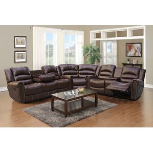 Burlinton Reclining Sectional by Beverly Fine Furniture