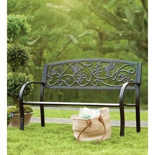 Hummingbird Aluminum Garden Bench by Plow & Hearth