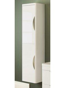 Ecklund 35.6 X 139.9cm Wall Mounted Cabinet By Belfry Bathroom