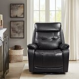 Aymen Faux Leather Power Recliner by Red Barrel Studio®