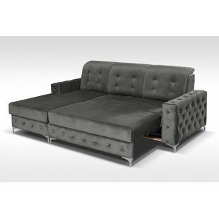 Everly Quinn Bowdon Mini Sleeper Sectional