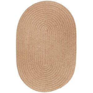 Handmade Taupe Area Rug