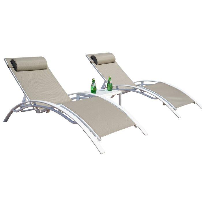 Terrific Travon Elegant Patio Adjustable Reclining Chaise Lounge Cjindustries Chair Design For Home Cjindustriesco