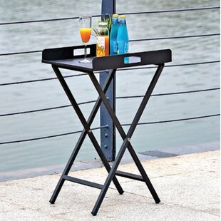 Shallowater Outdoor Metal Side Table by Charlton Home Best Choices