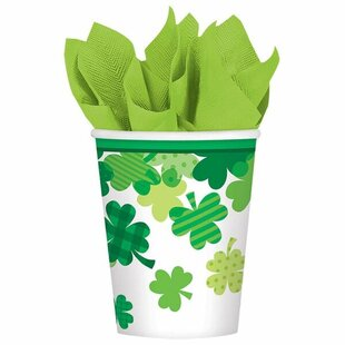 Shamrock Paper Disposable Every Day Cup (Set of 32)