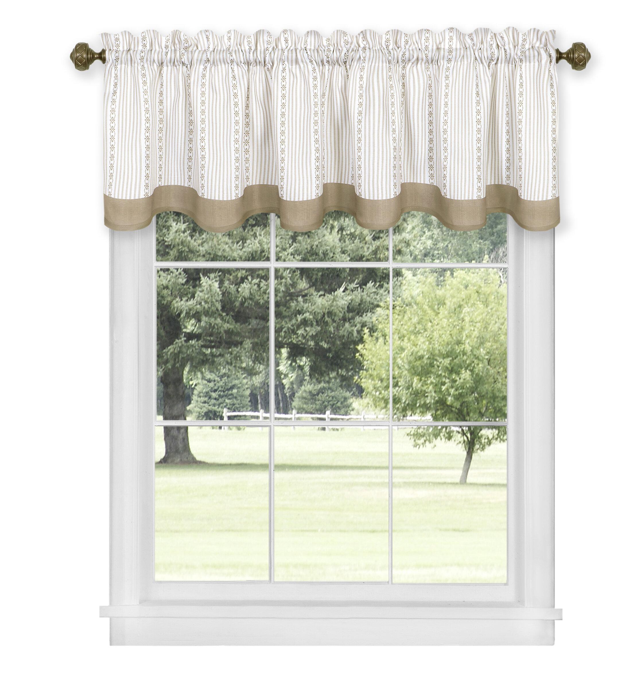 Charlton Home Lagoudera 58 Window Valance Reviews Wayfair