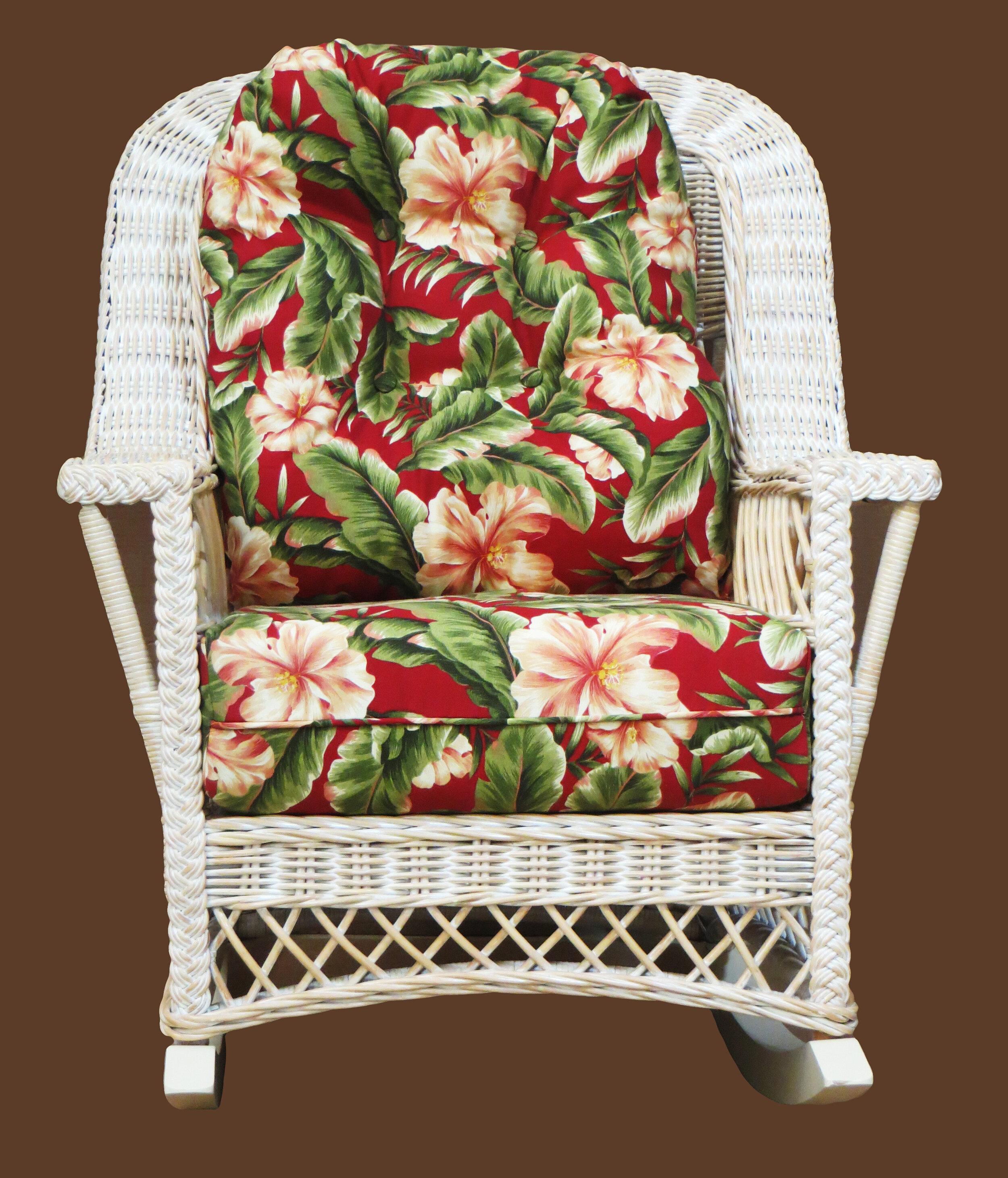 Bay Isle Home Rosado Rocking Chair Wayfair