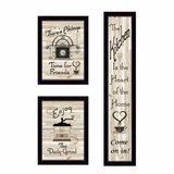 August Grove The Kitchen Collection I By Millwork Engineering 3 Piece Picture Frame Print Set On Paper Wayfair