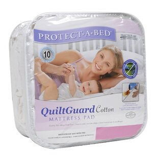 Protect-A-Bed Quilt Guard Fitted Hypoallergenic Waterproof Mattress Protec..