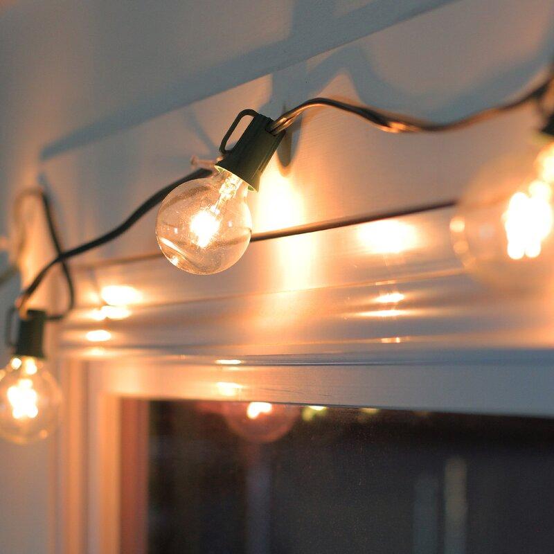 Patio Garden Christmas String Lighting