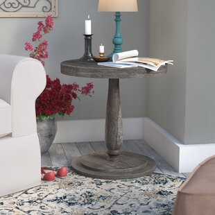 Baudemont Round End Table by Lark Manor