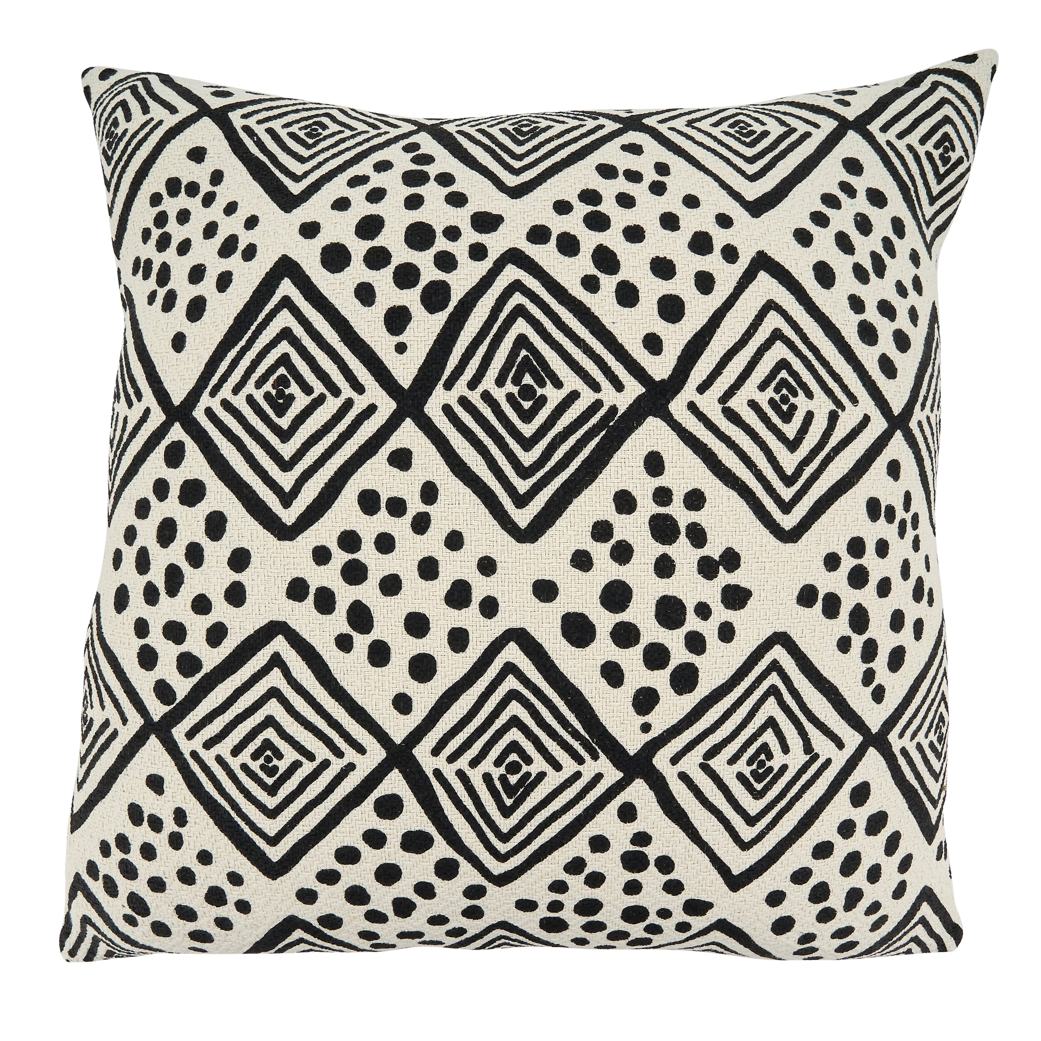 Picture of: Union Rustic Gustav Cotton Geometric 22 Throw Pillow Cover Wayfair