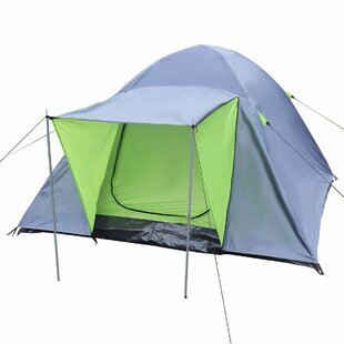 Waterproof Double Layer 3-4 Person Tent Image