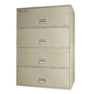 4-Drawer Vertical Filing Cabinet by Sentry Safe