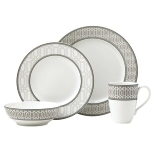 Neutral Party Link 4 Piece Place Setting, Service for 1