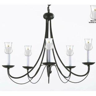Harrison Lane Versailles 5-Light Candle-S..