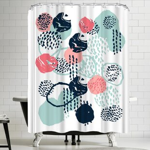 Polyester Single Shower Curtain
