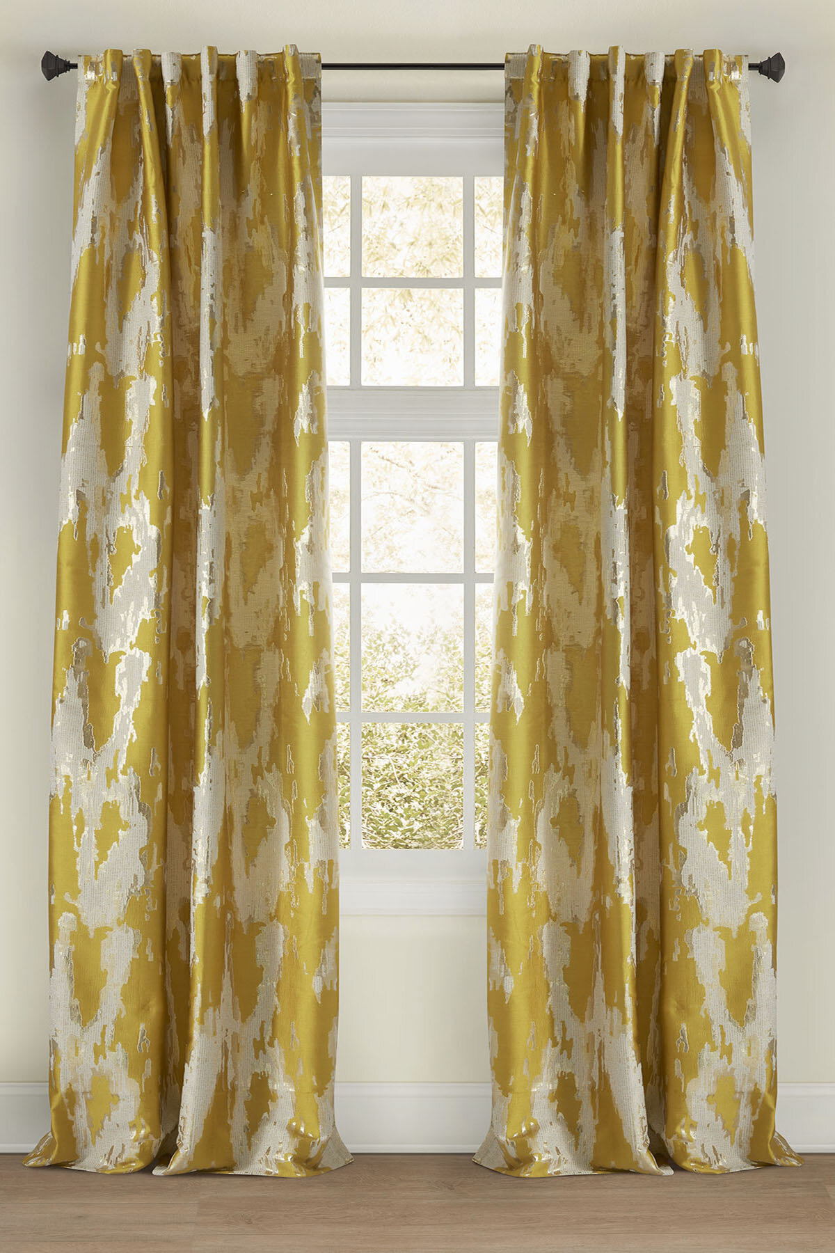 Luxury Modern Contemporary Curtains Drapes Perigold