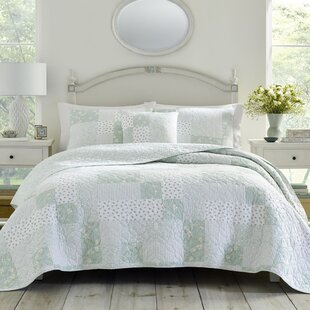 Rowen 100 Cotton Reversible Quilt By Laura Ashley Home