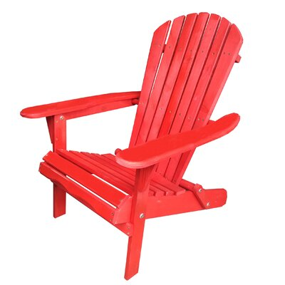 Admirable Bestdesu Wood Folding Adirondack Chair Color Red Squirreltailoven Fun Painted Chair Ideas Images Squirreltailovenorg