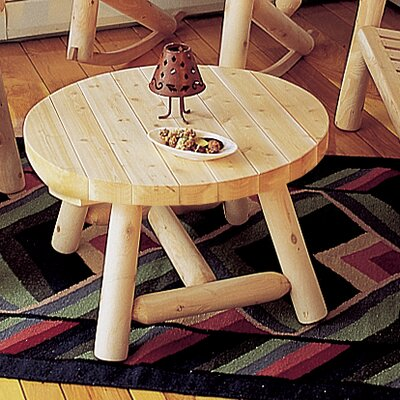 Coffee Table Rustic Natural Cedar Furniture