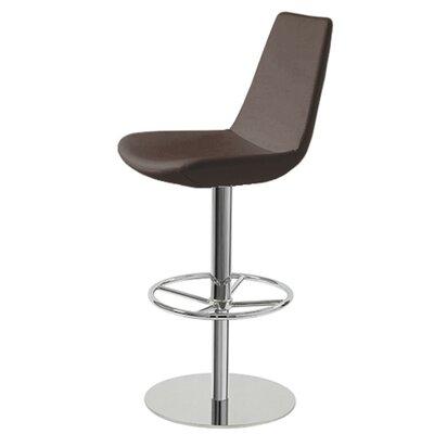 Strange Shinkle Piston Adjustable Height Swivel Bar Stool Brayden Theyellowbook Wood Chair Design Ideas Theyellowbookinfo