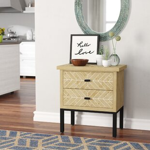 Eliza 2 Drawer Accent Chest by Ivy Bronx