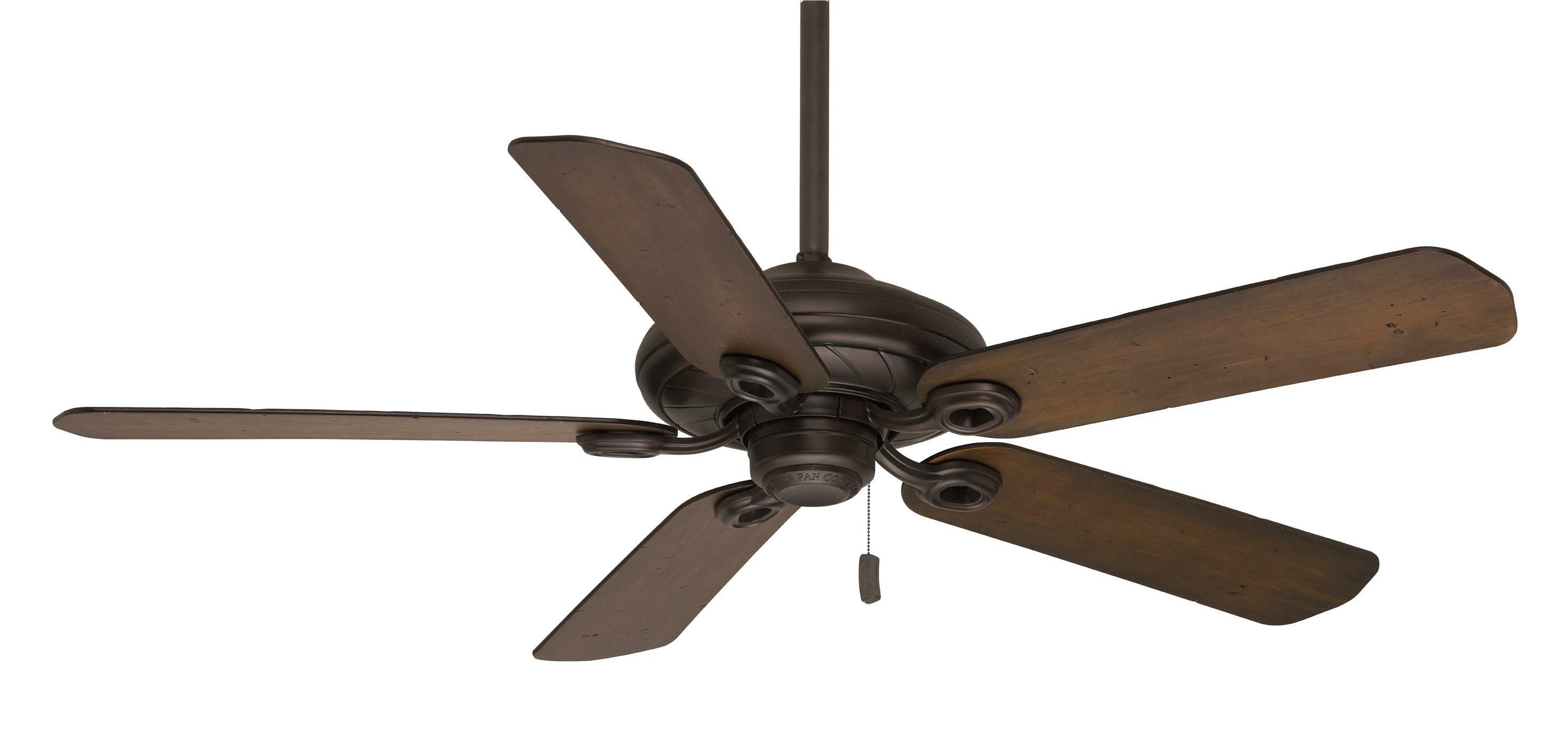 "Casablanca Fan 54"" Capistrano 5 Blades Outdoor Damp Ceiling Fan"
