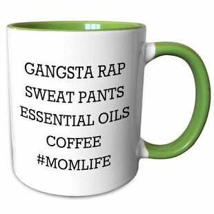 Vena Mom Life, Gangsta Rap, Sweat Pants, Oils Coffee Mug