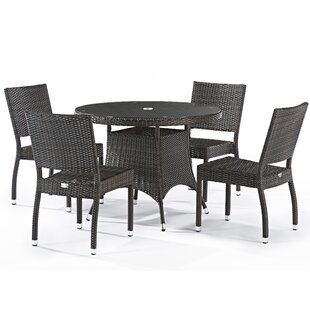 Cindy 4 Seater Dining Set With Cushions By Sol 72 Outdoor