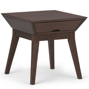 Alderete End Table with Storage