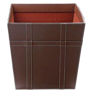 Kindwer Leather Waste Basket