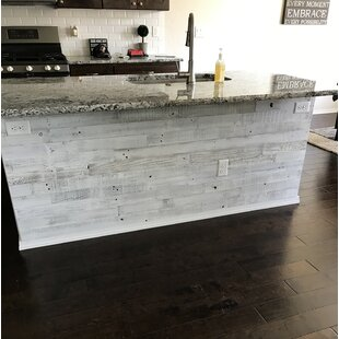3 Reclaimed Barnwood L And Stick Wall Paneling In Whitewashed