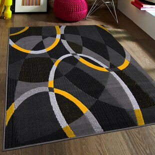 Bargain Gray Area Rug By AllStar Rugs