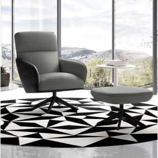 Christie Lounge Chair by Modloft Black