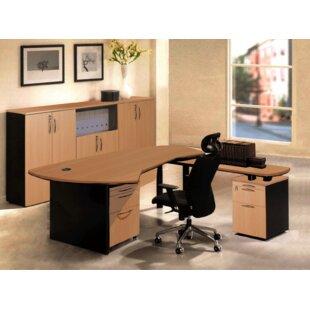 OfisELITE Executive Management 6 Piece L-..
