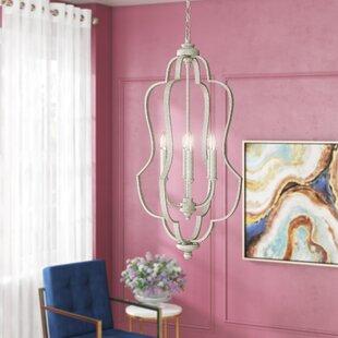 Willa Arlo Interiors Erroll 6-Light Foyer Pendant