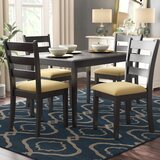 Alabama 5 Piece Dining Set by August Grove®