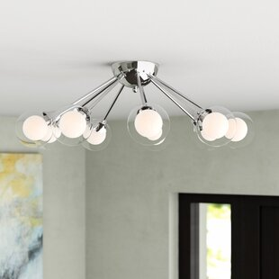Coletta 9-Light Semi Flush Mount by Orren Ellis