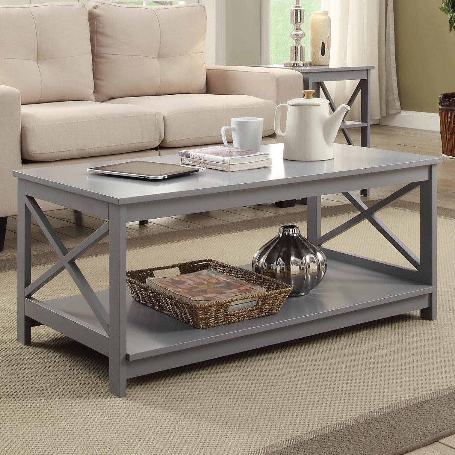 Grey Coffee Tables You Ll Love In 2020 Wayfair