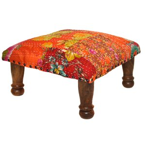 Patchwork Ottoman by Divine Designs