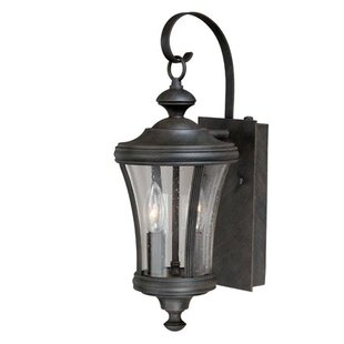 Savings Bronzewood 2-Light Outdoor Wall Lantern By Darby Home Co