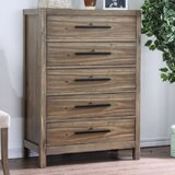 Atchison 5 Drawer Chest by Foundry Select