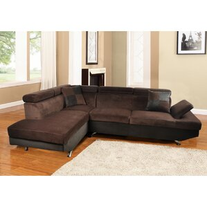 Brisson Reclining Sectional by Orren Ellis